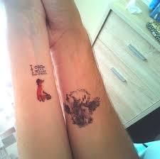 Vodotěsný Dočasné Tetování Nálepka Liška Kůň Vlk Tatto Samolepky