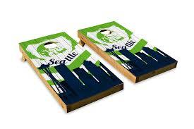 Coors Light Cornhole Amazon Com Seattle Football Skyline Design Cornhole Bean