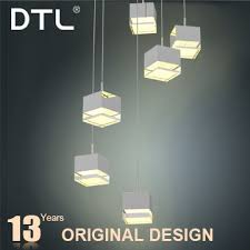futuristic design 220v sitting room acrylic chandelier parts