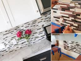 Diy Tile Backsplash Kitchen Top 20 Diy Kitchen Backsplash Ideas