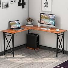 sturdy office desk. Tribesigns 59\u201d L-Shaped Corner Desk Sturdy Office
