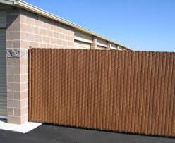 Interesting Chain Link Fence Slats Vinyl Wood With Design Ideas
