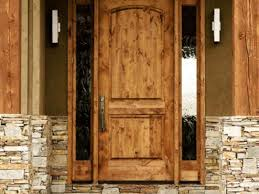 Solid Wood Exterior Front Doors Entry With Glass Images Panels Solid Wood Exterior Doors Home Depot