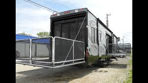 sold 2016 cyclone thor 4200 toy hauler fifth wheel rv r door garage heartland i94rv