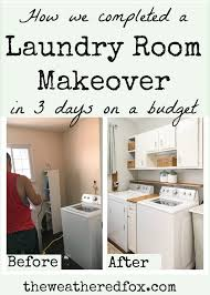how we managed a laundry room makeover in three days for under 300