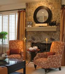 solid light oak wood shelf over fireplace western living room mount wall white wood vent hood