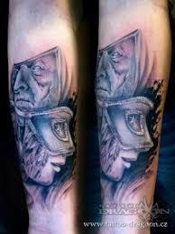 Motiv Tetování Pampeliška