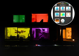 wireless lighting solutions. Why Go Green With Your Lightbulbs When You Can Orange, Yellow, Red, Or Blue? Philips Hue Is A New Series Of LED-based Lighting Solutions That Screw Right Wireless
