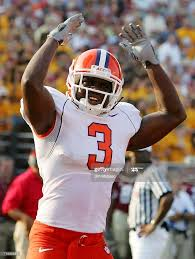 Duane Coleman of the Clemson Tigers tries to fire up his teams fans... News  Photo - Getty Images