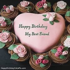 Best Friend Birthday Cake Photo The Galleries Of Hd Wallpaper