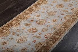 rugsville ziegler oushak vegetable dyes light blue runner rug 60x300