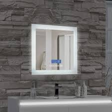 MTDVanities Encore LED Illuminated Bathroom Wall Mirror with Built
