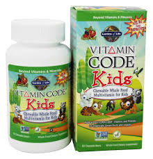 garden of life vitamin code kids whole food multivitamin cherry berry 60 chewables at luckyvitamin com