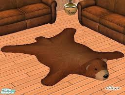 fake animal skin rugs faux teddy bear skin rug fake animal skin rugs with head