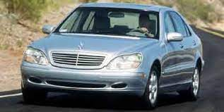 We analyze millions of used cars daily. 2000 Mercedes Benz S Class Review Ratings Specs Prices And Photos The Car Connection