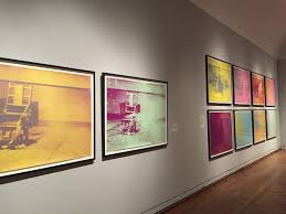 modern electric chair. the electric chair by warhol modern f