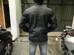 custom made cafe racer style men s leather motorcycle jackets made to order to your size