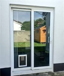 medium dog flap in glass door gallery image