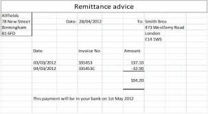 Payment Remittance Template New Top 48 Free Remittance Templates Word Templates Excel Templates