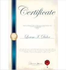 Vector Certificate Template Free Vector In Adobe Illustrator Ai