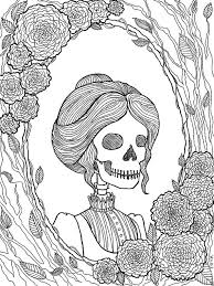 Pretty Dreadful Coloring Pages Halloween Coloring Book Creepy