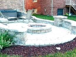 brick patio ideas red used bricks s sand home depot for with pergola and stone images