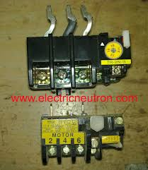 Motor Overload Protection Chart Motor Overload Protection Electrical Engineering Centre