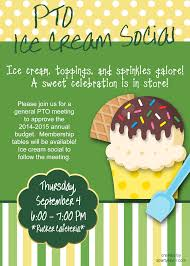 event flyer for ice cream social event advertising event flyer for ice cream social