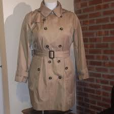 London Fog Double Breasted Waterproof Trench