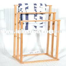 image of standing wooden towel rack teak afundesigncom bathroom towel rack wood decor references