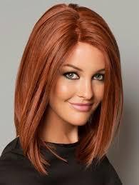 Red Long Bob Hairstyles Hair Nails Cortes De Pelo Cabello A