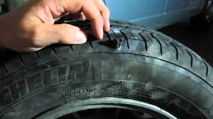 diy tire repair fixing sidewall puncture with plug patch kit nail lasted over 3 years