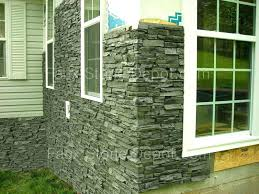 Fake Exterior Stone Graceful Panels On Low Maintenance Siding The Blog Cheap Faux For Houses Outdoor  Panel Sand Stacked