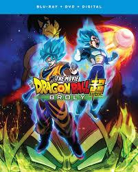 <b>Dragon Ball</b> Super: <b>Broly</b> - The Movie (Blu-ray + DVD + Digital Copy ...