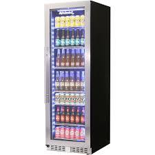 commercial glass door bar fridges and