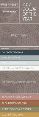 2017 Color of the Year: Poised Taupe - In addition to the neutral of this