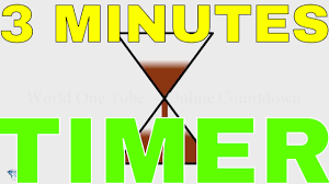 3 Minutes Sand Timer Youtube