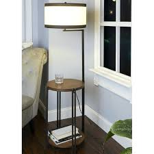 side table with usb port side table floor lamp with port side table with usb port