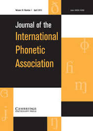 The nato phonetic alphabet is a spelling alphabet used by airline pilots, police, the military, and others when communicating over radio or telephone. Journal Of The International Phonetic Association Cambridge Extra At Linguist List