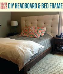 headboards making a padded headboard with ons how to build a headboard frame with peg