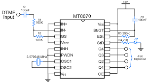 Sensors Modules Mt8870 Dtmf Decoder Sensors Modules