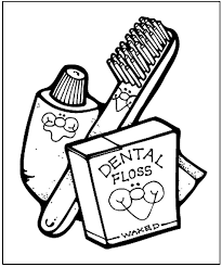 Small Picture Dental Health Coloring Page Teaching Kids Pinterest Dental