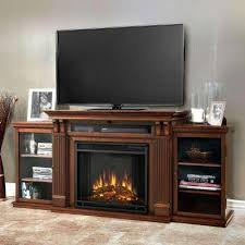 calie entertainment 67 in media console electric fireplace tv stand in dark espresso