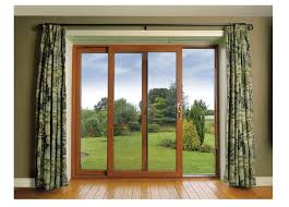 double sliding glass patio and sliding door just sliding