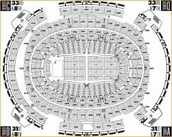 Msg Seating Chart With Seat Numbers 14 Madison Square Garden New York Ny Seating Chart Stage
