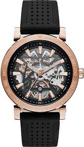 men s michael kors halo skeleton automatic watch mk9033