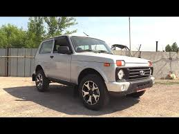 2020 <b>LADA 4x4 Urban</b> Luxe. Start Up, Engine, and In Depth Tour ...