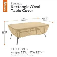 classic accessories patio furniture covers. Rectangle Patio Table Covers Skip To The Beginning Of Images Gallery Details Terrazzo Furniture . Classic Accessories I