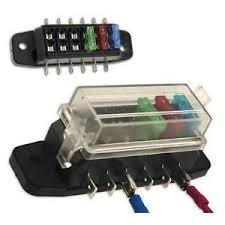 fuse block ebay fuse box for car accessories universal fuse block