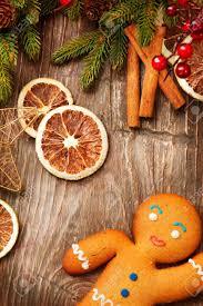 gingerbread background. Contemporary Gingerbread Christmas Holiday Background Gingerbread Man Ber Holz StandardBild   16696610 For O